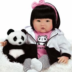 "Lifelike Realistic Asian Newborn Weighted Baby Girls Doll ""B"