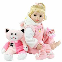 Aori Realistic Baby Doll 22 Inch Lifelike Weighted Reborn Ba