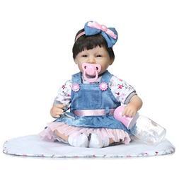 Dirance 16 Inch Lifelike Reborn Doll Sleeping Soft Silicone
