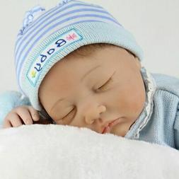 Lifelike Reborn Newborn Dolls Toddler 22''Vinyl Silicone Bab