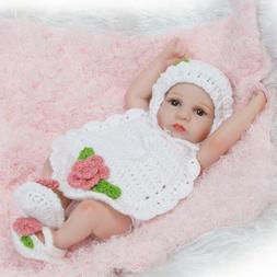 10'' Lifelike Newborn Baby Dolls Full Body Vinyl Silicone Re