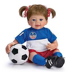 Linda Murray Dream Big Soccer Player Poseable Lifelike Baby