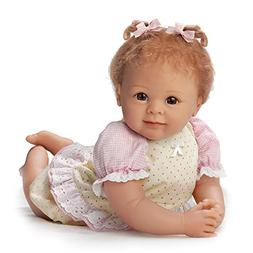 Linda Murray Poseable 20 Inch Baby Girl Doll by Ashton Drake
