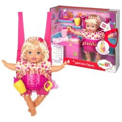 Mattel Little Giggle Mommy Laugh and Love Baby Doll w/ Carri