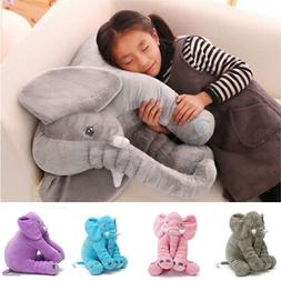 Long Nose Elephant Doll Lovely Sleep Pillow Baby Kids Soft P