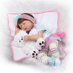 NPK Look Real Sleeping Girl Realistic Reborn Baby Doll Soft