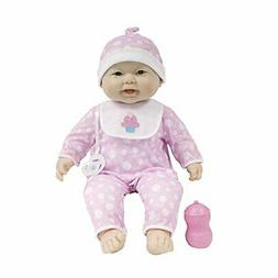 "JC Toys Lots to Cuddle Babies 20"" Asian Soft Body Baby Doll"