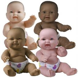 """JC Toys 14"""" Lots to Love Babies with Different Skin Tones an"""