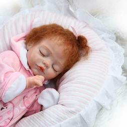 "16"" Pinky Reborn Preemie Baby Dolls Realistic Newborn Reborn"