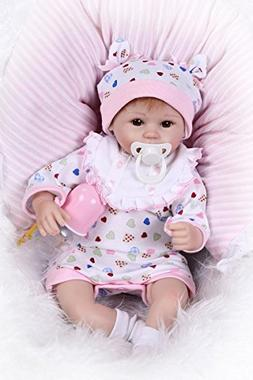 Pinky 42cm 17 Inch Lovely Realistic Looking Reborn Baby Doll