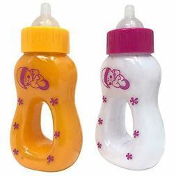 The New York Doll Collection Magic Juice Milk Bottle Set Bab