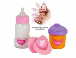 Adora Magic Sippy Set Bottle Pacifer Juice Cup for Dolls NEW
