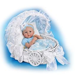 Marissa May Lifelike Baby Doll with 7 Piece Ensemble and Car