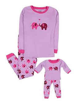 matching doll pajama set cotton