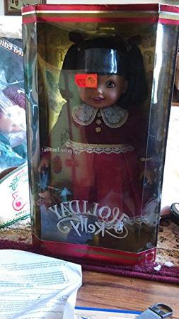 "Mattel Holiday Kelly Doll 15"",new in Box"