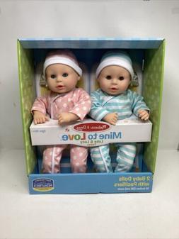 "Melissa & Doug 31711 Mine to Love Twins Luke and Lucy 15"" Do"