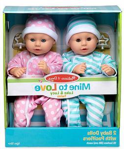 ✅ Melissa & Doug Luke & Lucy 15-inch Dolls NEW!