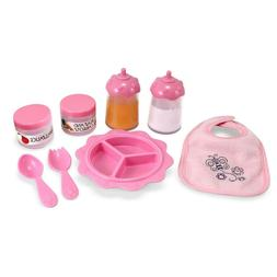 Melissa & Doug Mine to Love Baby Food & Bottle Set, Doll Acc