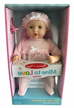 "Melissa and Doug Mine To Love Jenna Baby Doll 12"" - New In B"