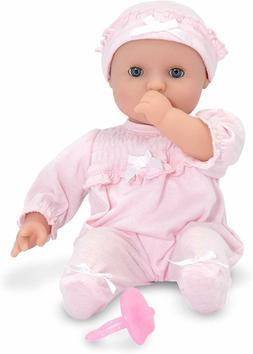 Melissa & Doug Mine to Love Jenna 12-Inch Soft Body Baby Dol