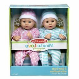 Melissa & Doug Mine to Love Twins Luke & Lucy Baby Dolls #31