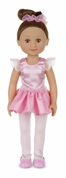 MELISSA AND DOUG VICTORIA BALLET DOLL XMAS GIFT GIRL PRETEND