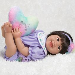 Paradise Galleries Mexican Baby Doll Hispanic Reborn Rainbow