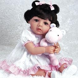 Paradise Galleries Hispanic Baby Doll Michelle, 19 inch Mexi