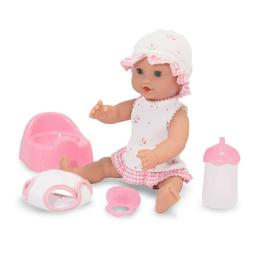 Mine to Love Annie 12-Inch Drink & Wet Doll, Pretend Play, P