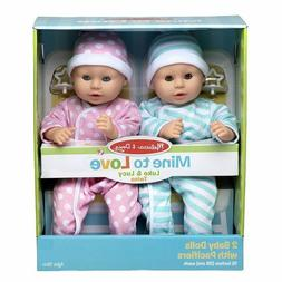 "Melissa & Doug Mine to Love Twins Luke & Lucy 15"" Ligh"