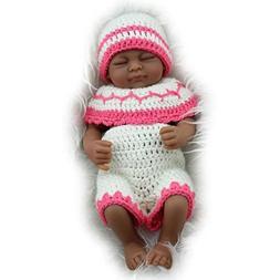 """TERABITHIA Mini 11"""" Black Cute Truly Newborn African America"""