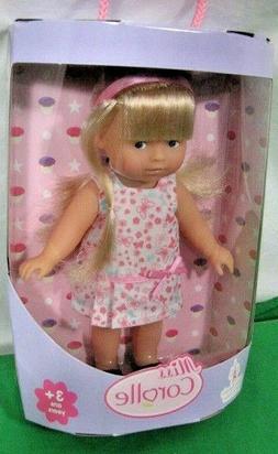 "Corolle Mini Corolline 8"" Blonde Doll New In Box  W9360 3+"