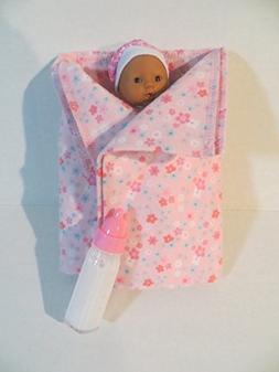 Mini Toysmith Baby Doll African American OUTFITS WILL VARY +