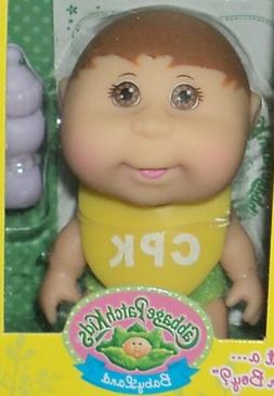 Cabbage Patch Kids Mini Doll Brown Hair & Eyes-Remove Diaper
