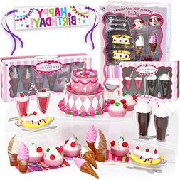 Mini 18 Inch Doll Food Set, Sophia's Complete Sweet Treat Se