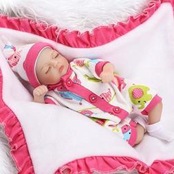 TERABITHIA 8 inch 20cm Mini Lifelike Sleeping Reborn Palm Ba