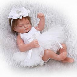 NPK collection Mini Real Life Cute Newborn Baby Doll Sleeppi