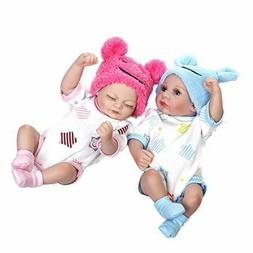 "Terabithia Mini 10"" Realistic Reborn Baby Boy Girl Dolls Sil"