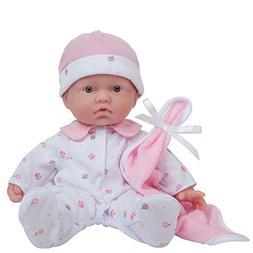 "JC Toys Mini Soft Body Baby Doll Realistic, Pink, 11"""
