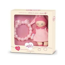 Corolle Mini Miss and Baby Teether BKD17-0 - Pink NIB