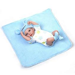"Terabithia Miniature 10"" Realistic Adorable Newborn Baby Dol"