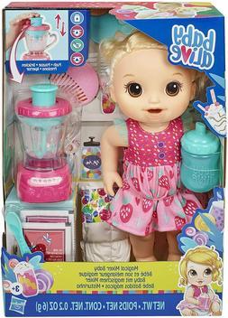 mixer baby doll strawberry shake accessories blonde