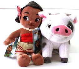 Disney Moana & Pua, Plush Toys Animators Collection - Moana