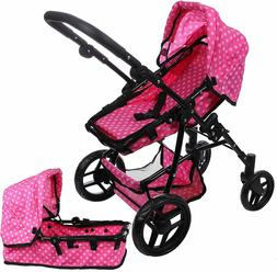 Mommy and Me Doll Collection Babyboo Baby Doll Stroller for