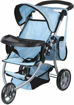 Mommy and Me Doll Collection Doll Stroller Fold-able Doll Jo
