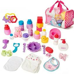 Mommy & Me Doll Collection Mommy & Me Baby Doll Care Set - w