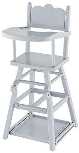 Corolle Mon Grand Poupon High Chair Toy Baby Doll