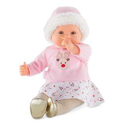 Corolle FPK21 Mon Grand Poupon - My Large Baby Doll - Happy