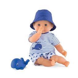 Corolle Mon Premier Poupon Bebe Bath Boy Toy Baby Doll, Blue