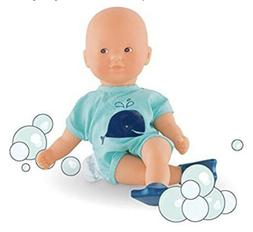 Corolle Mon Premier Poupon Mini Bath Blue Toy Baby Doll With